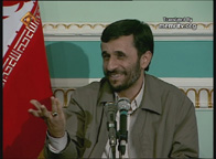 Iran's President Ahmadinejad, who called for Israel to be wiped off the map.