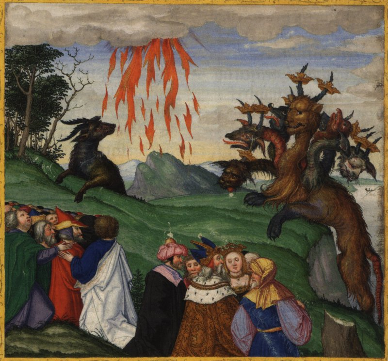 The Beast of Revelation - Ottheinrich Bible