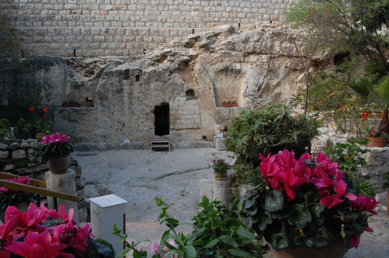 The Garden Tomb, in Jerusalem