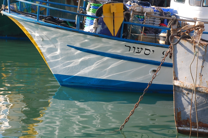 Fishing boats, Jaffa Harbour