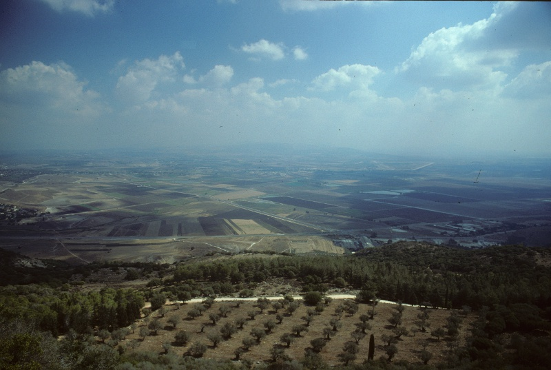 Clouds over the Jezreel Valley seen from Mount Carmel