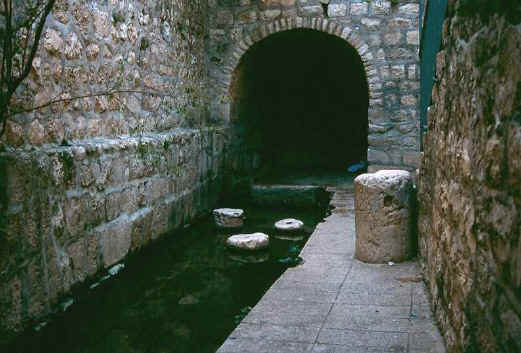 the end of Hezekiah's Tunnel in Jerusalem - used to be called the Pool of Siloam - qualifies as a Mikveh
