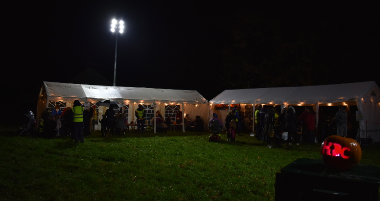 Treat or Treat event in a park near the church, 2018