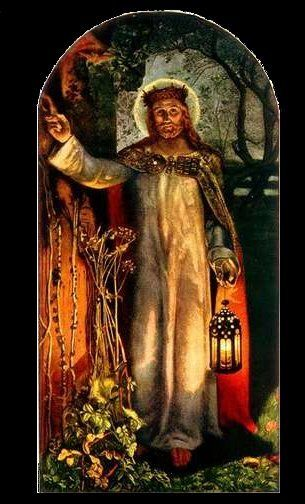 The Light of the World by William Holman Hunt - Revelation 3:16