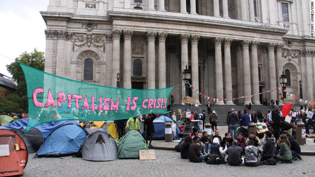 occupy-london-st-paul-s-cathedral - Image by CNN