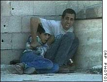 "The ""death"" of Mohammed Al Durra, blamed on the IDF"