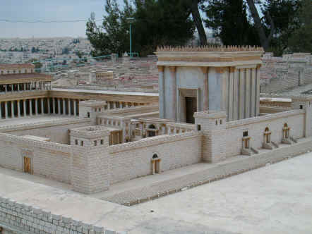 The Model of the Temple in the time of Herod - Jerusalem